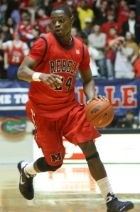 Freshman guard Terrico White